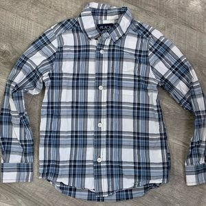 🦋 Long Sleeve Button Down Flannel